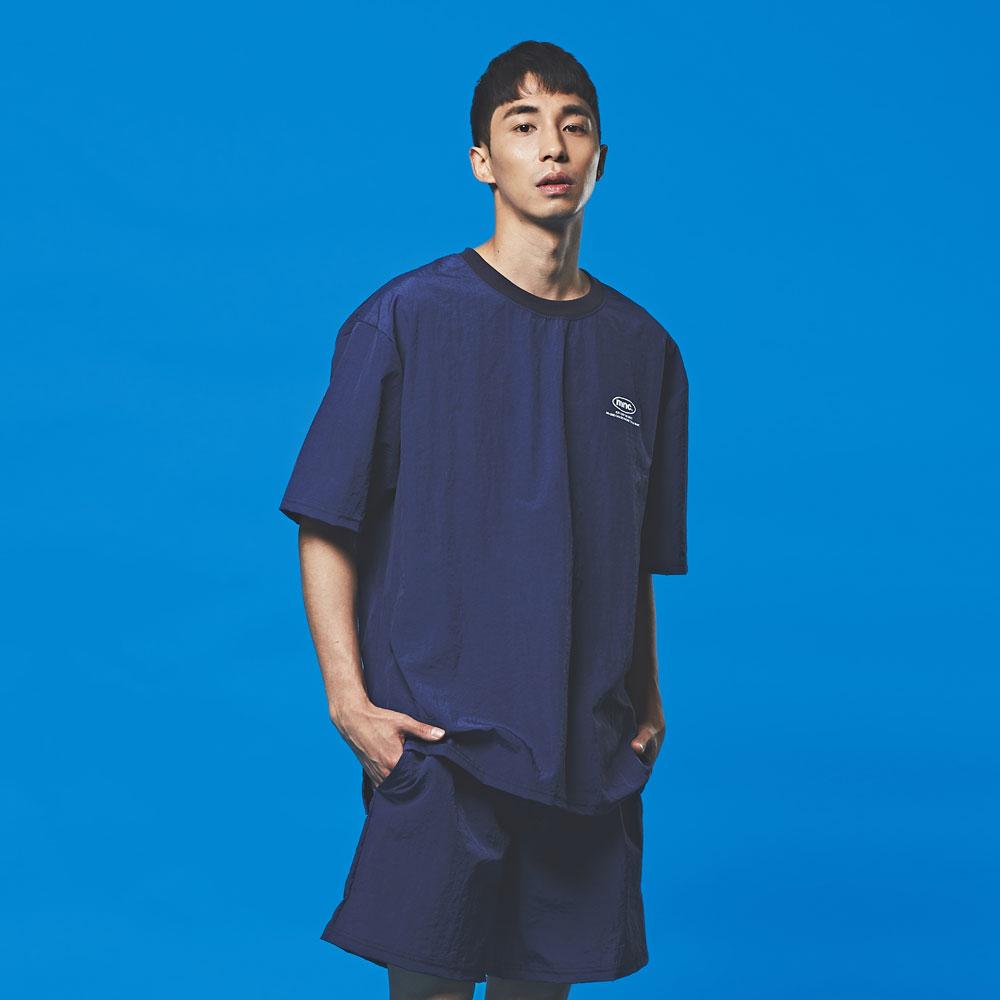 [1+1] (상하의 파우치 SET)MNC 스윔 파우치 SET 블루