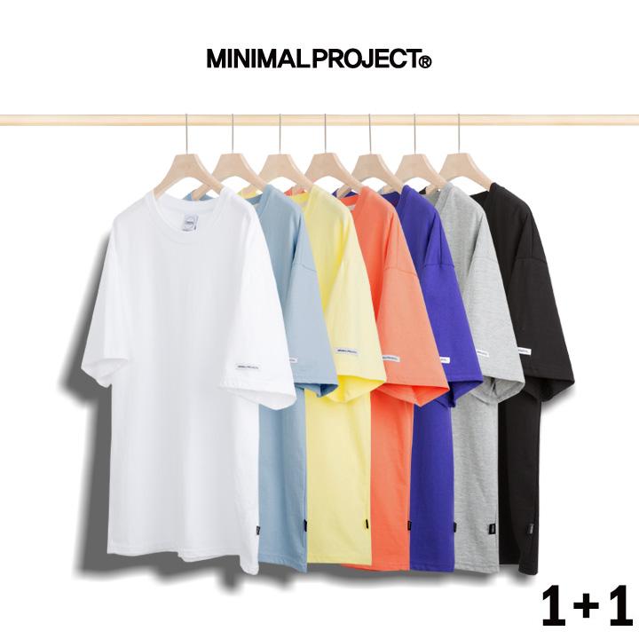 [1+1]  미니멀프로젝트 헤비웨이트 오버핏 반팔티셔츠 MST101