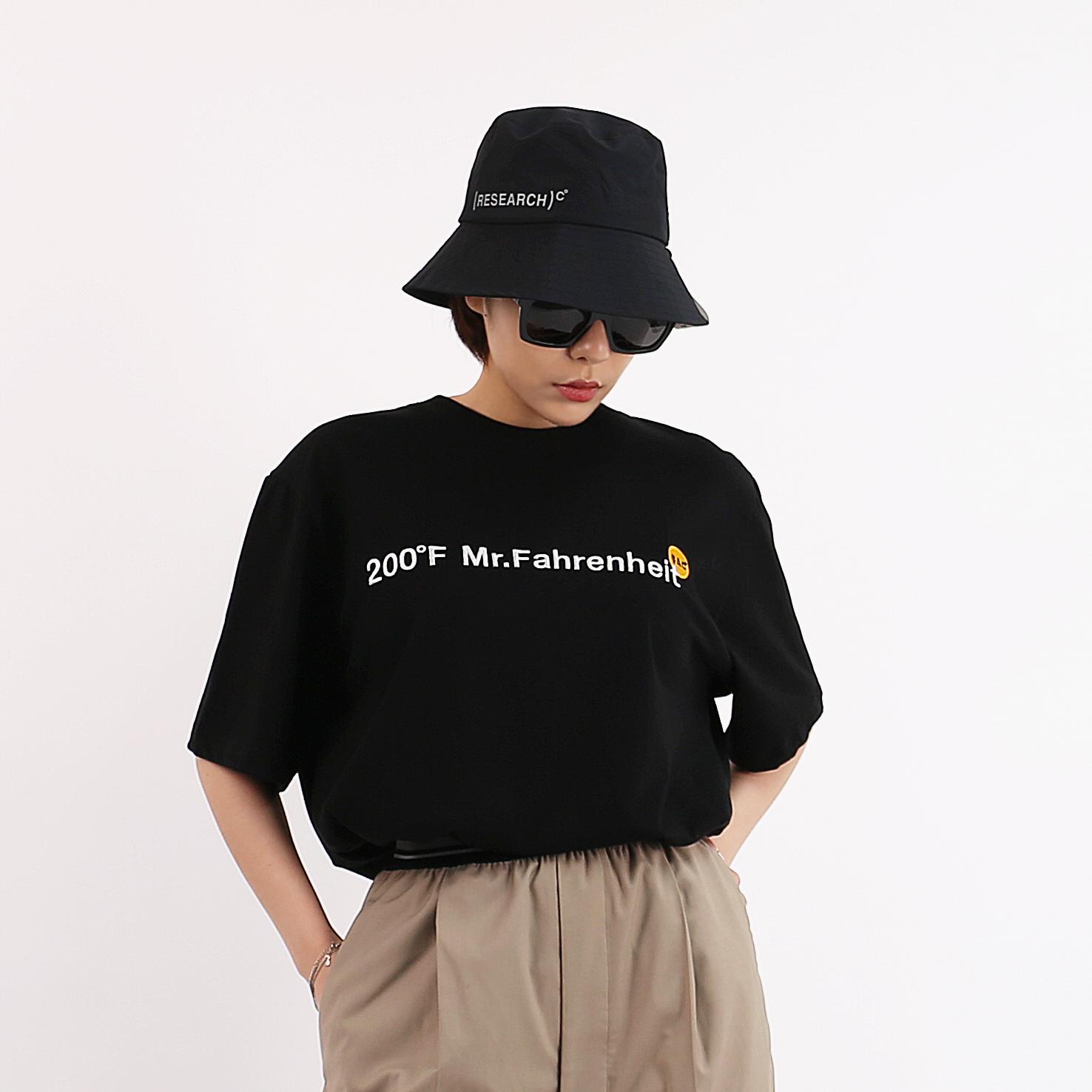 200℉  T-SHIRTS BLACK