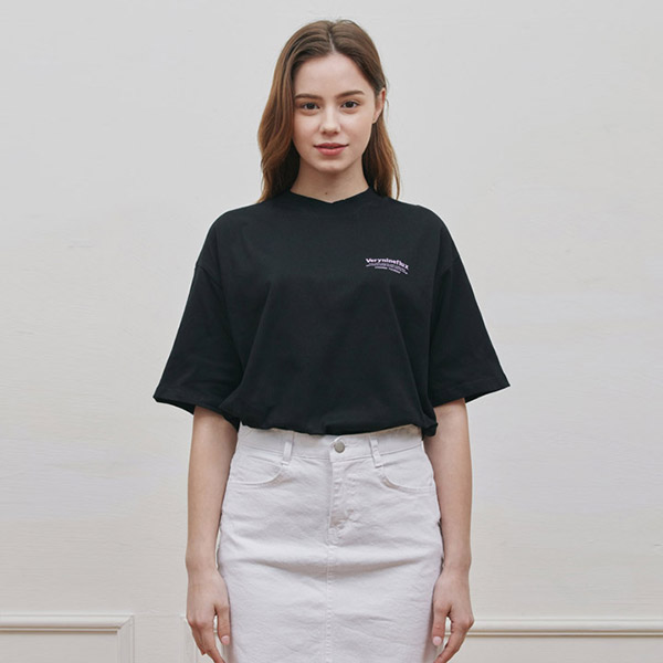ORDERLY T-SHIRT BLACK