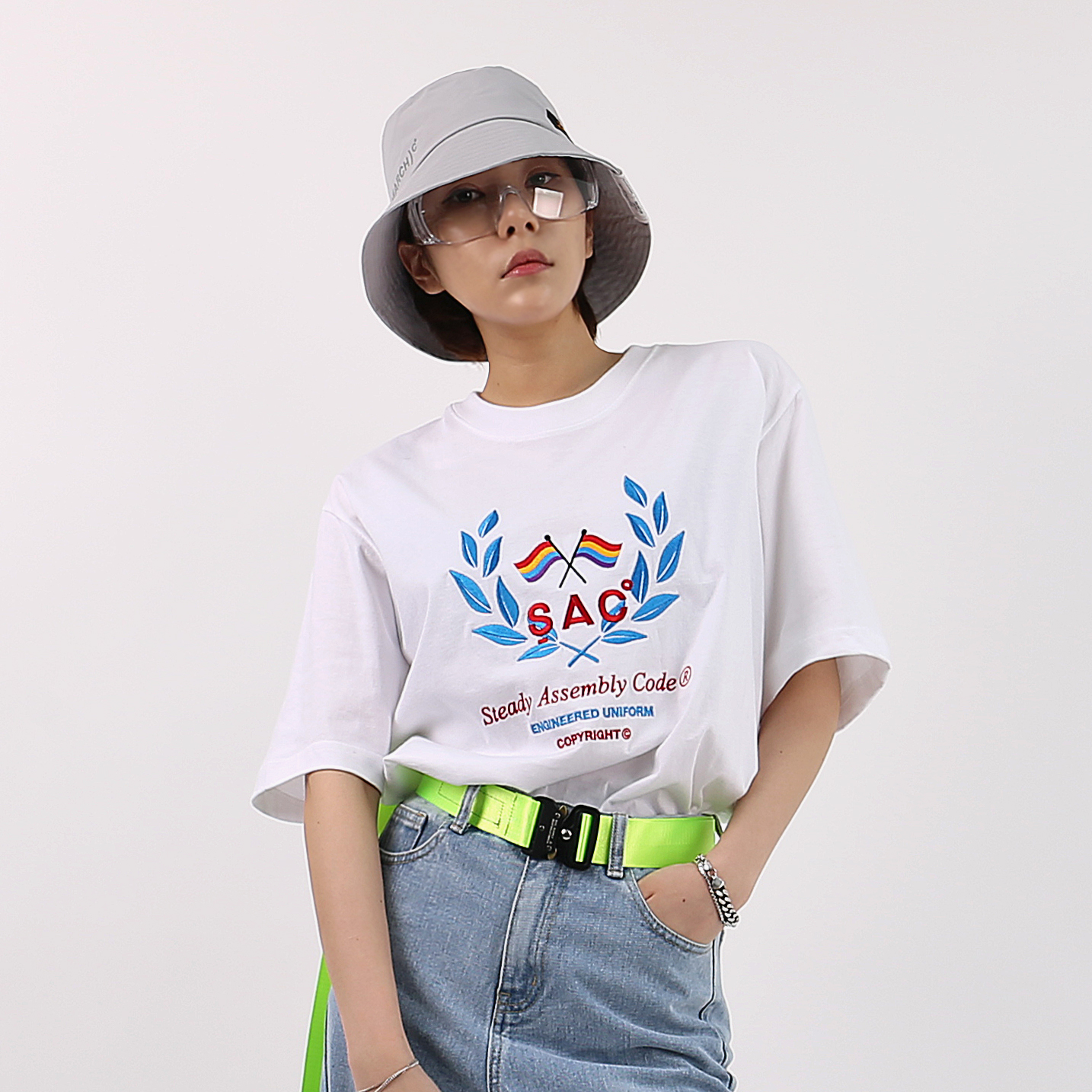 LAUREL  T-SHIRTS WHITE