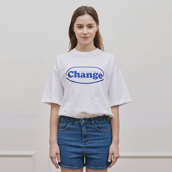 OVAL T-SHIRT WHITE