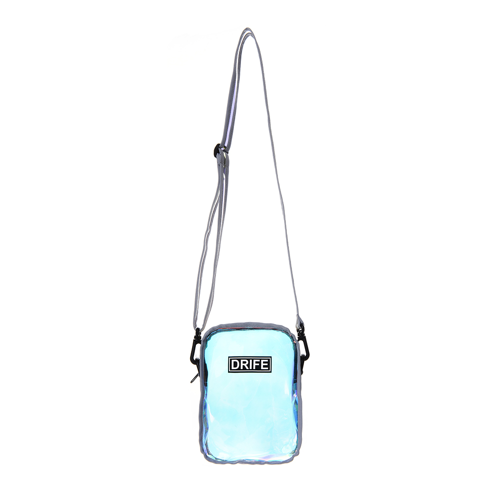 PVC MINI CROSS BAG - PRISM