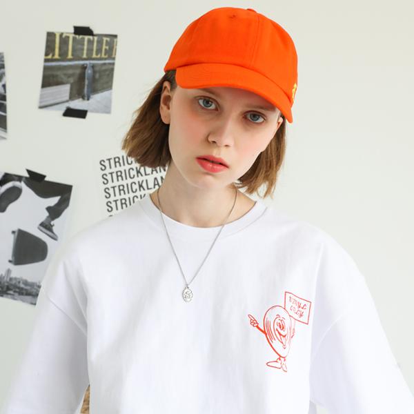 [단독할인]미스틱 바이닐 티셔츠 오렌지