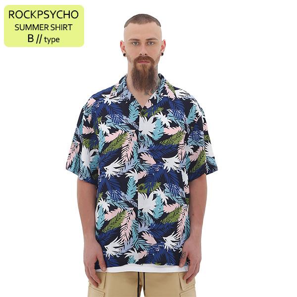 [단독벨트증정]ROCKPSYCHO(V) Summer Shirt - B  / 락사이코(V) 썸머셔츠- B