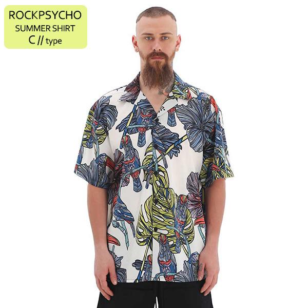 ROCKPSYCHO(V) Summer Shirt - C  / 락사이코(V) 썸머셔츠- C