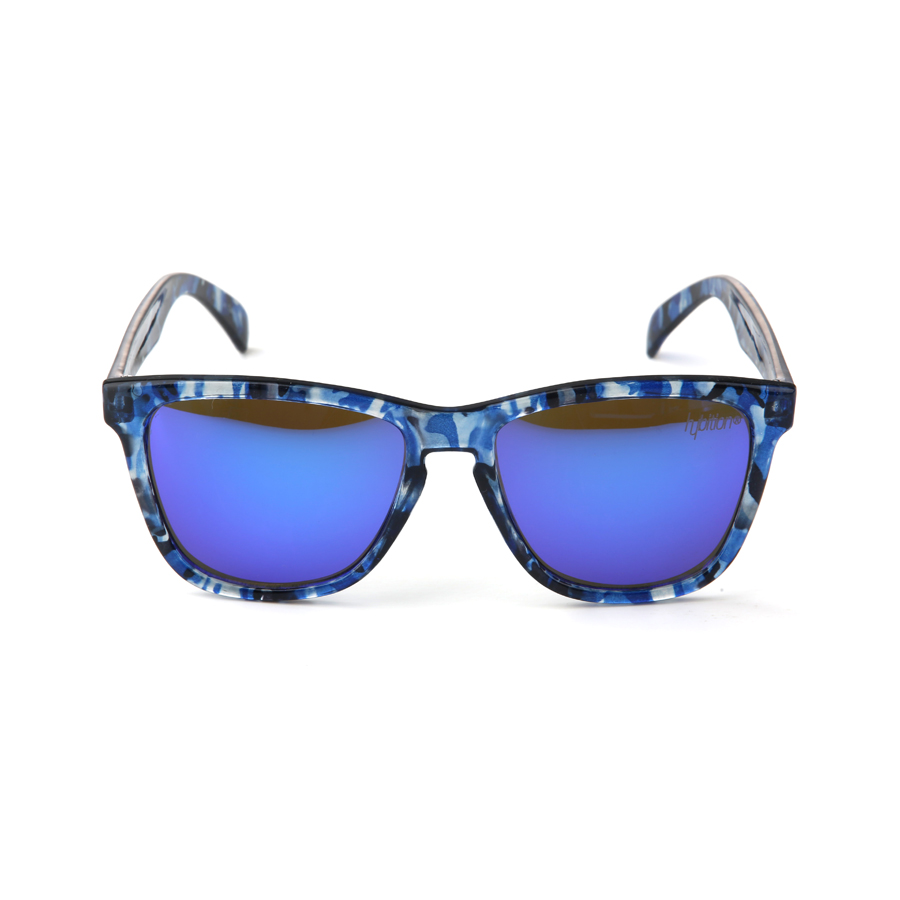 Unify Glossy Blue Camouflage / Blue Mirror Lens