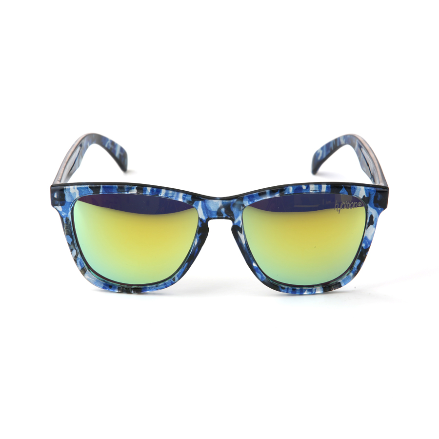Unify Glossy Blue Camouflage / Yellow Mirror Lens