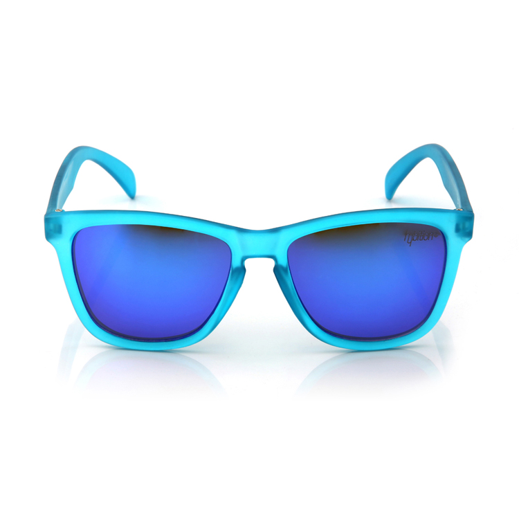 Unify Transparent Matt Blue / Blue Mirror Lens