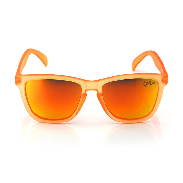 Unify Transparent Matt Orange / Orange Mirror Lens