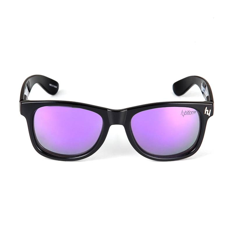 Truthful Toy Glossy Black / Purple Mirror Lens