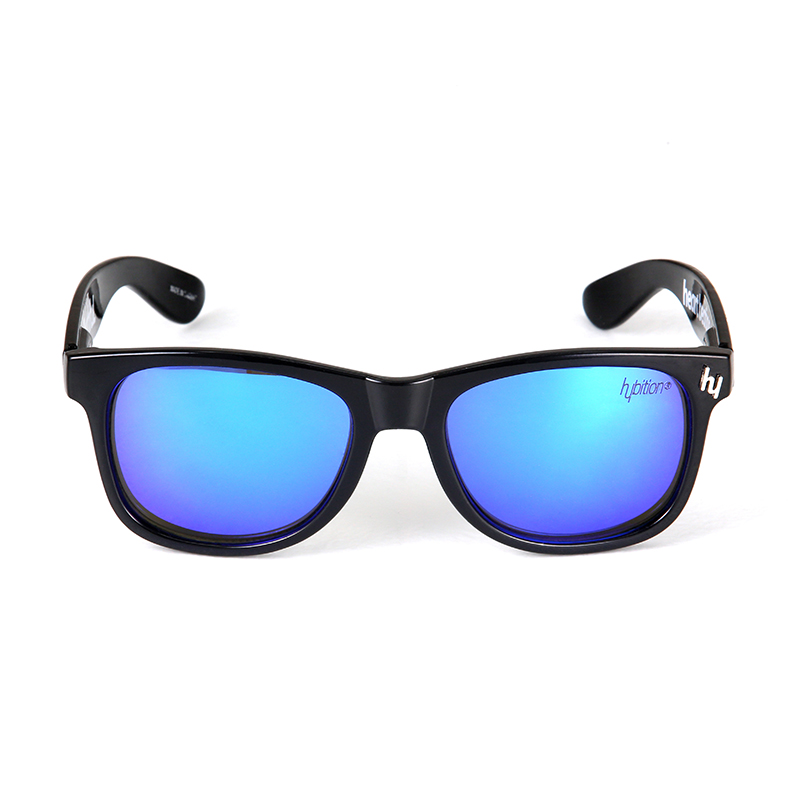 Truthful Toy Glossy Black / Blue Mirror Lens