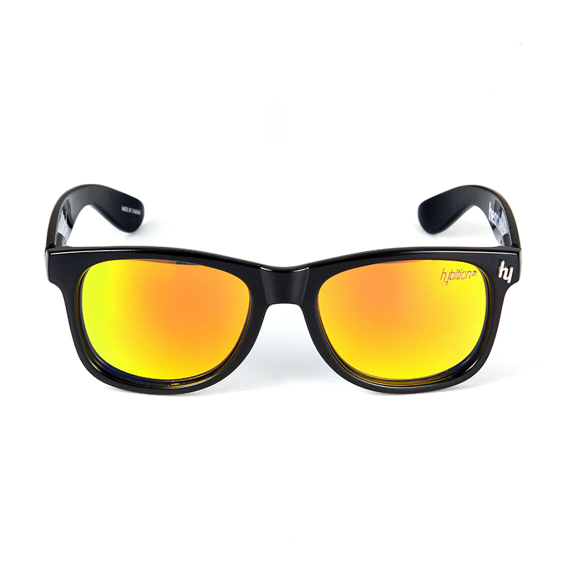 Truthful Toy Glossy Black / Orange Mirror Lens