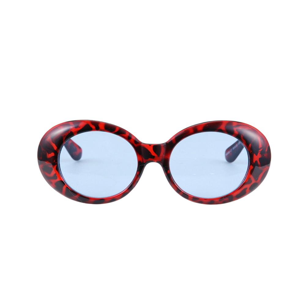[단독할인]Roswell Original Glossy Red Leopard / Blue Tint Lens