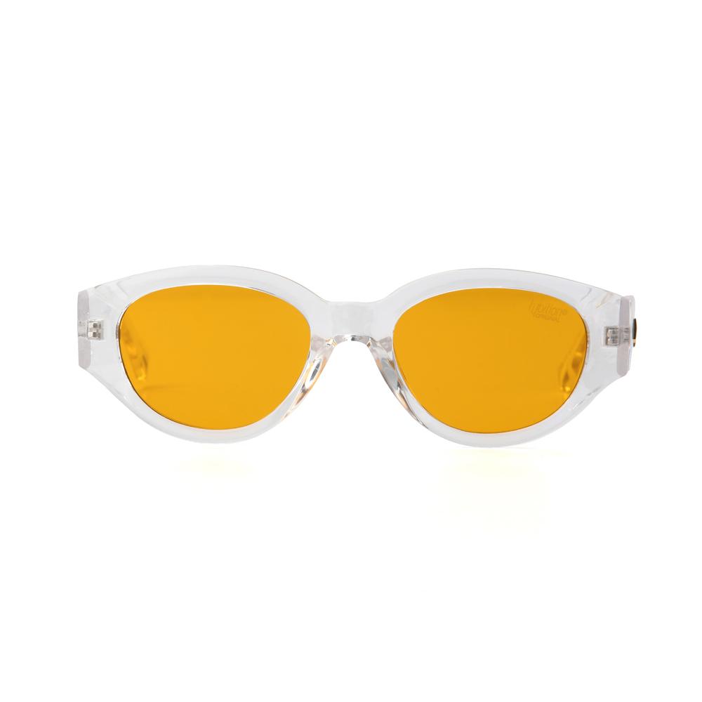 [단독할인]D.fox Original Glossy Clear / Orange Tint Lens