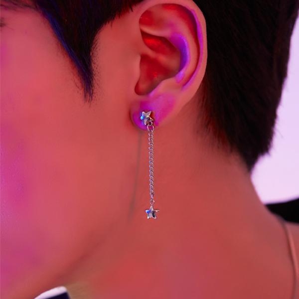 Star rain earring