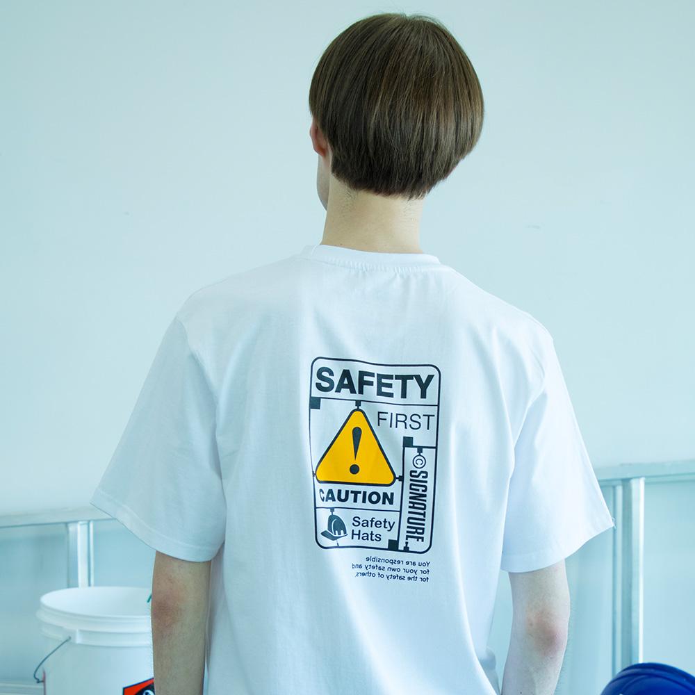 유니섹스 세이프티키트 티셔츠 [화이트]