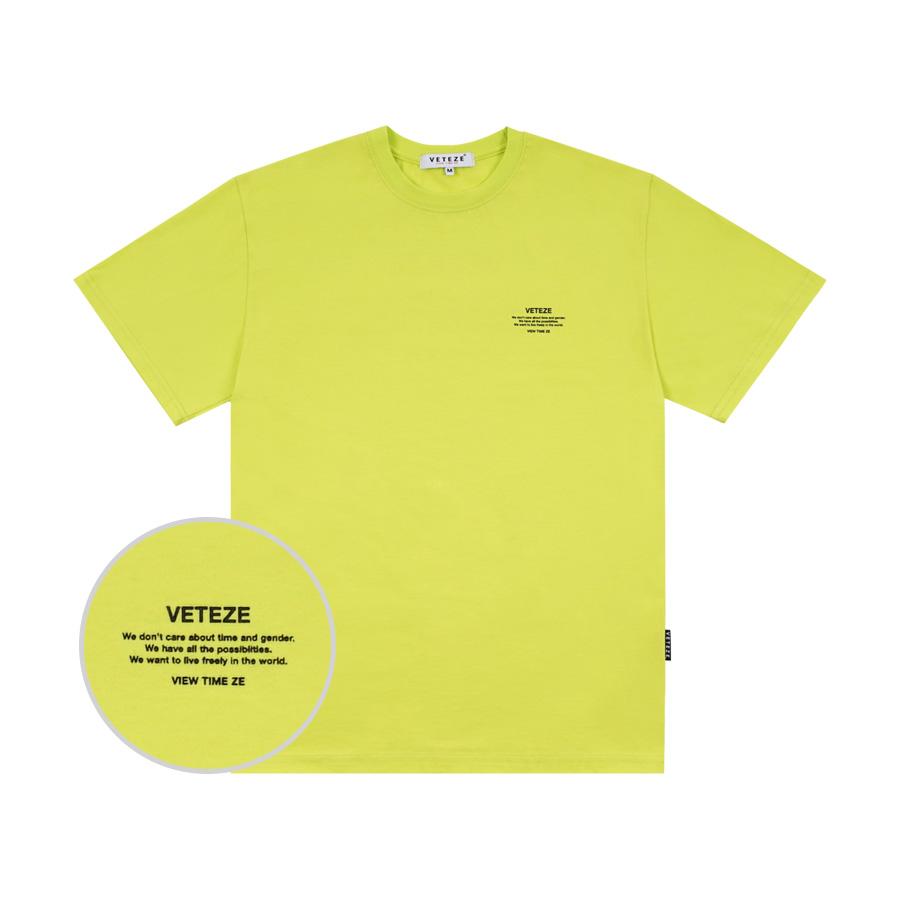 [단독할인]Basic Half T-Shirt (neon)