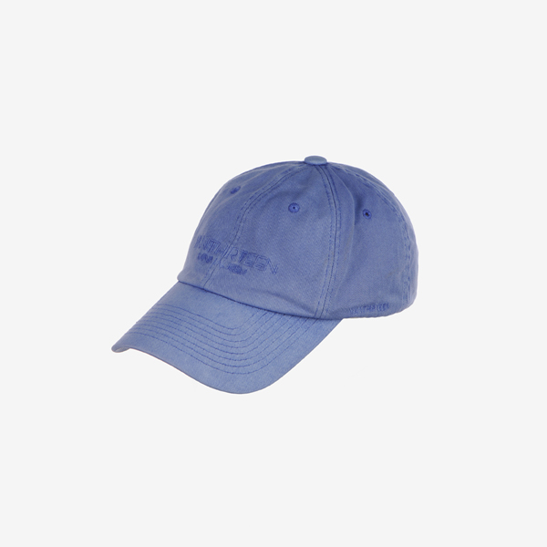 SIGNATURE PIGMENT DYE BALL CAP_SKY BLUE