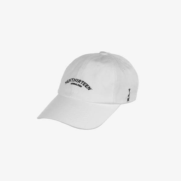 BOLT LOGO BASIC BALL CAP_WHITE