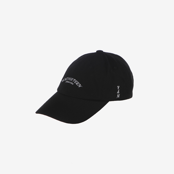 BOLT LOGO BASIC BALL CAP_BLACK