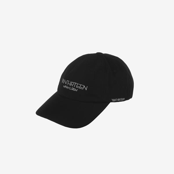 SIGNATURE LOGO BALL CAP_BLACK