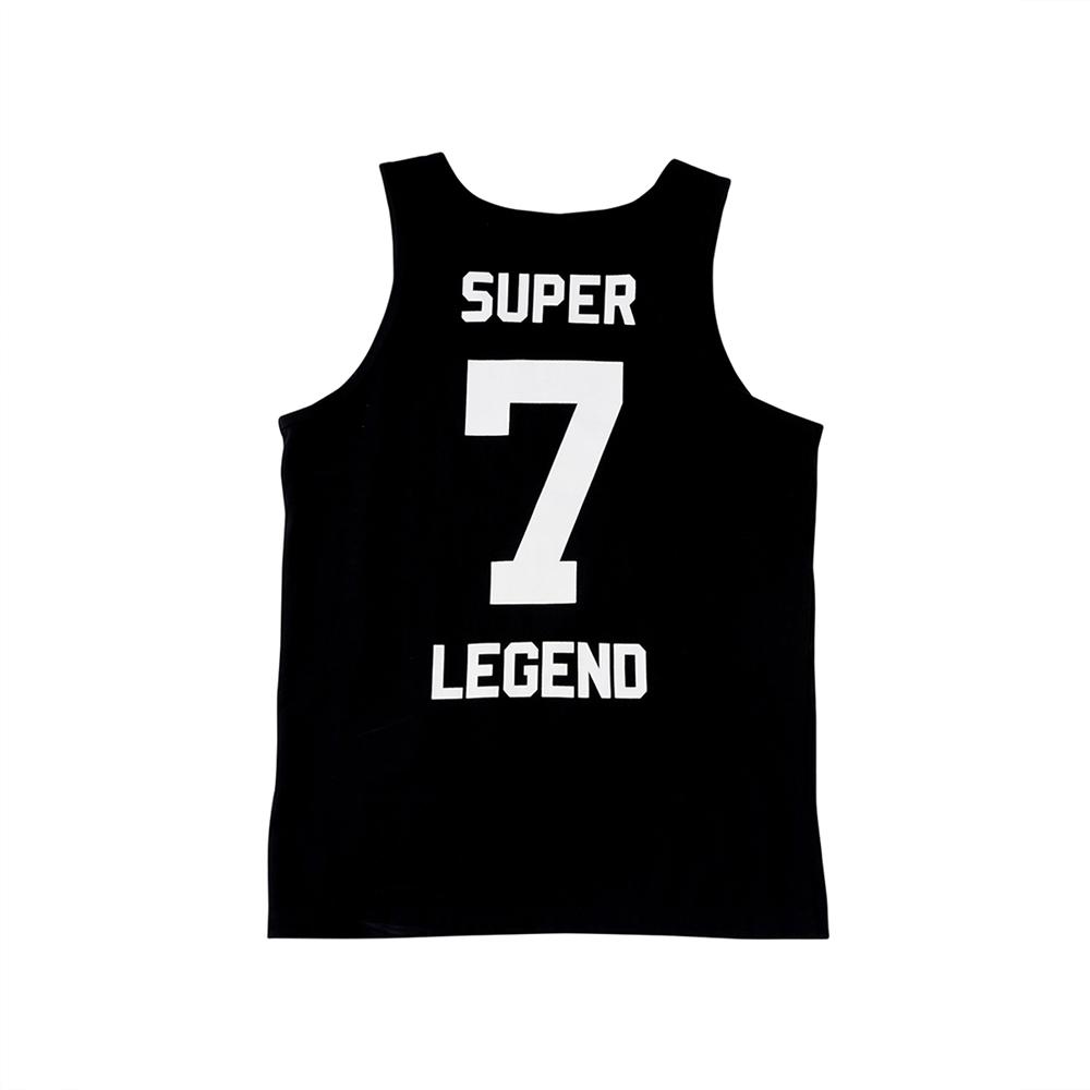 W_슬리버 3902 슈퍼소니 민소매 티셔츠 블랙