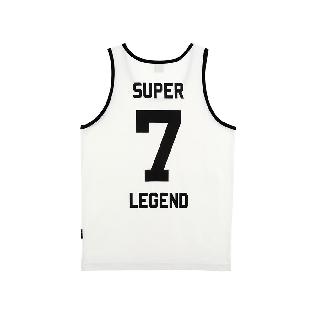 W_슬리버 3902 슈퍼소니 민소매 티셔츠 화이트