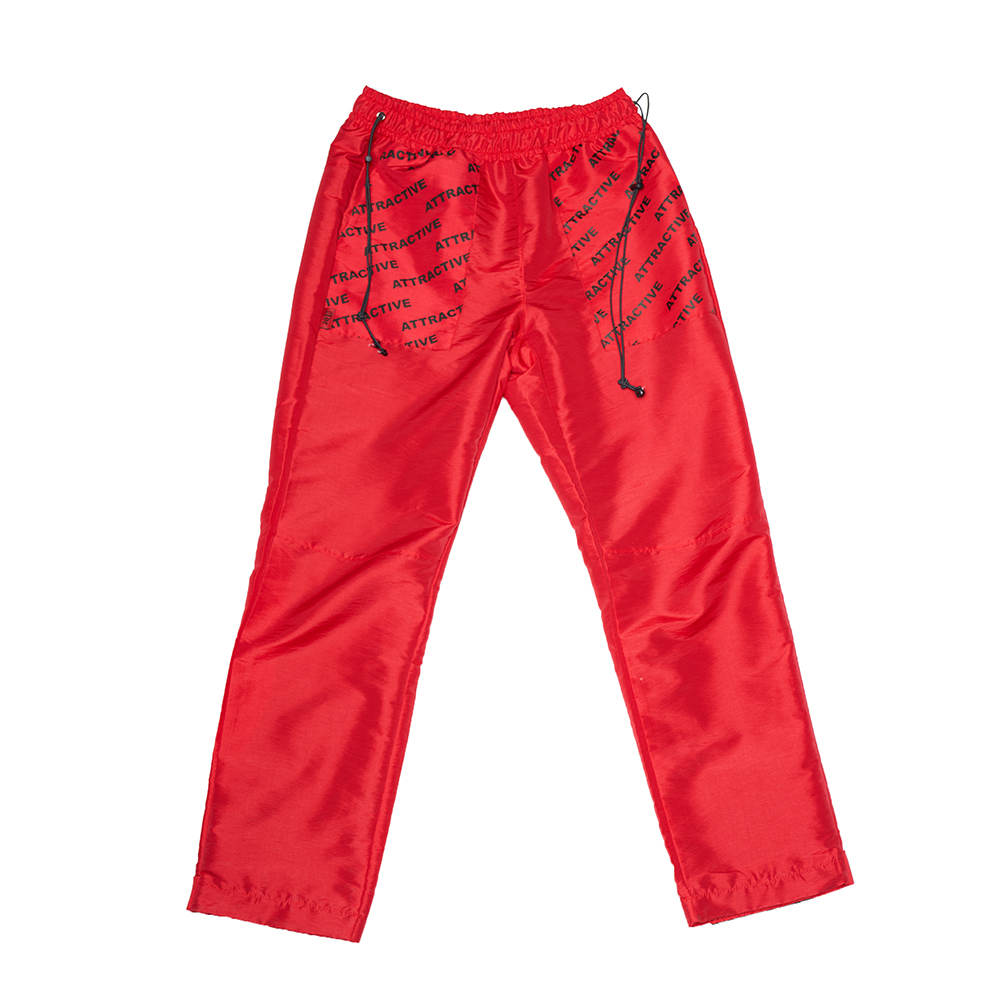 GLITTER PANTS - RED