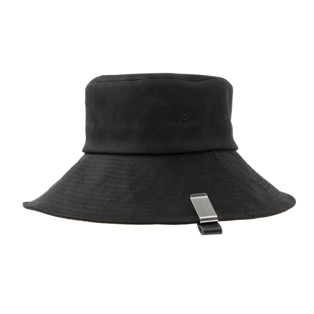 Clip Bucket Hat Black