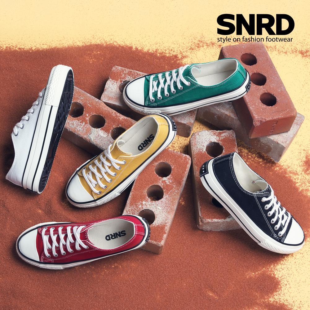 [게릴라특가][SNRD]남여공용 캔버스화 스니커즈 커플신발 신발 SNRD리미티드