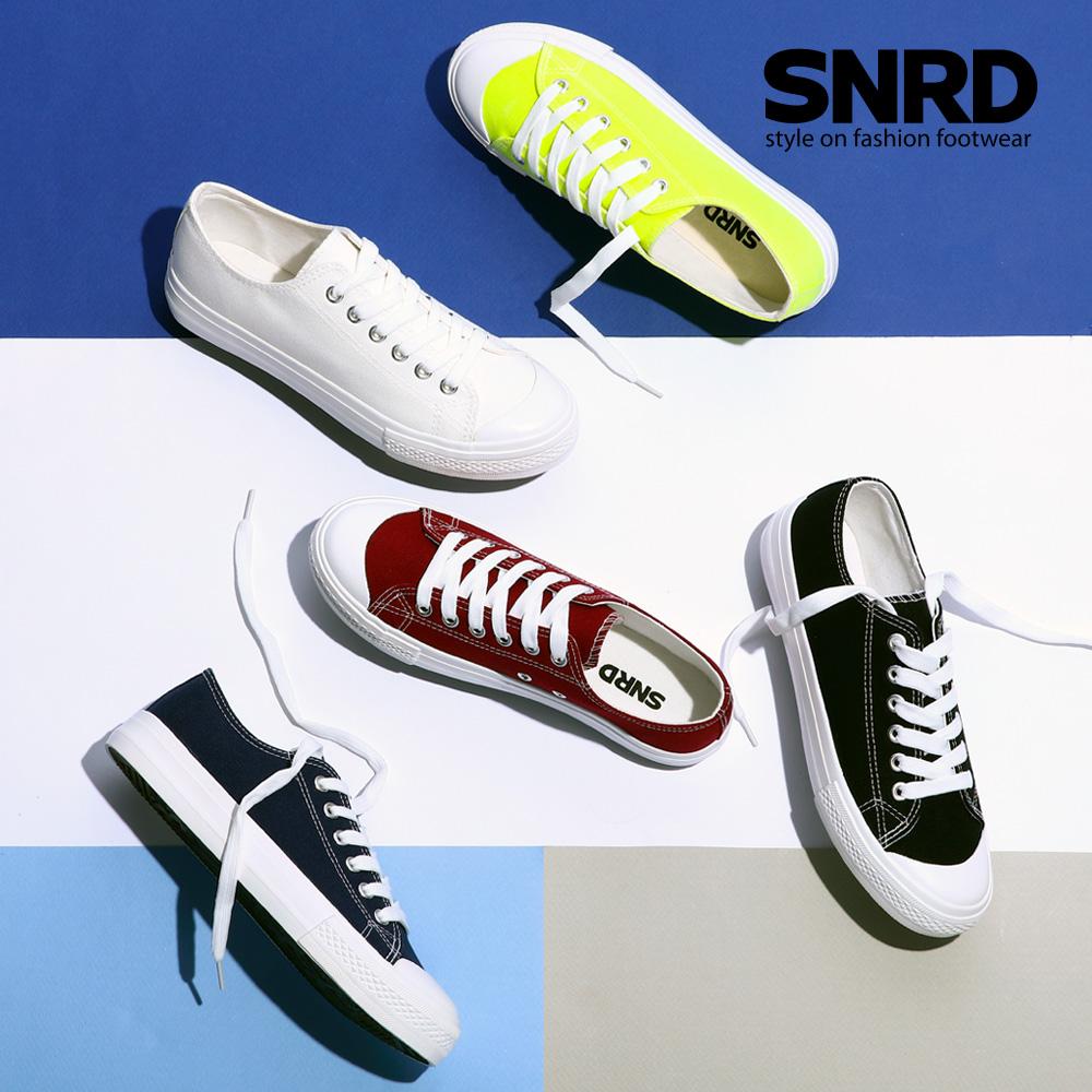 [SNRD] 캔버스 스니커즈 커플신발 운동화 SN152