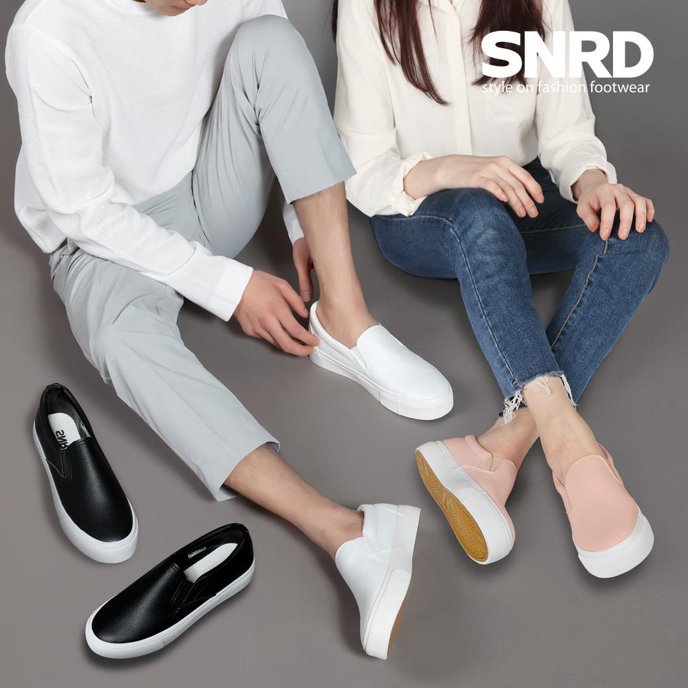 [SNRD]남여공용 슬립온 스니커즈 남자슬립온 여자슬립온 신발 커플신발 SN184