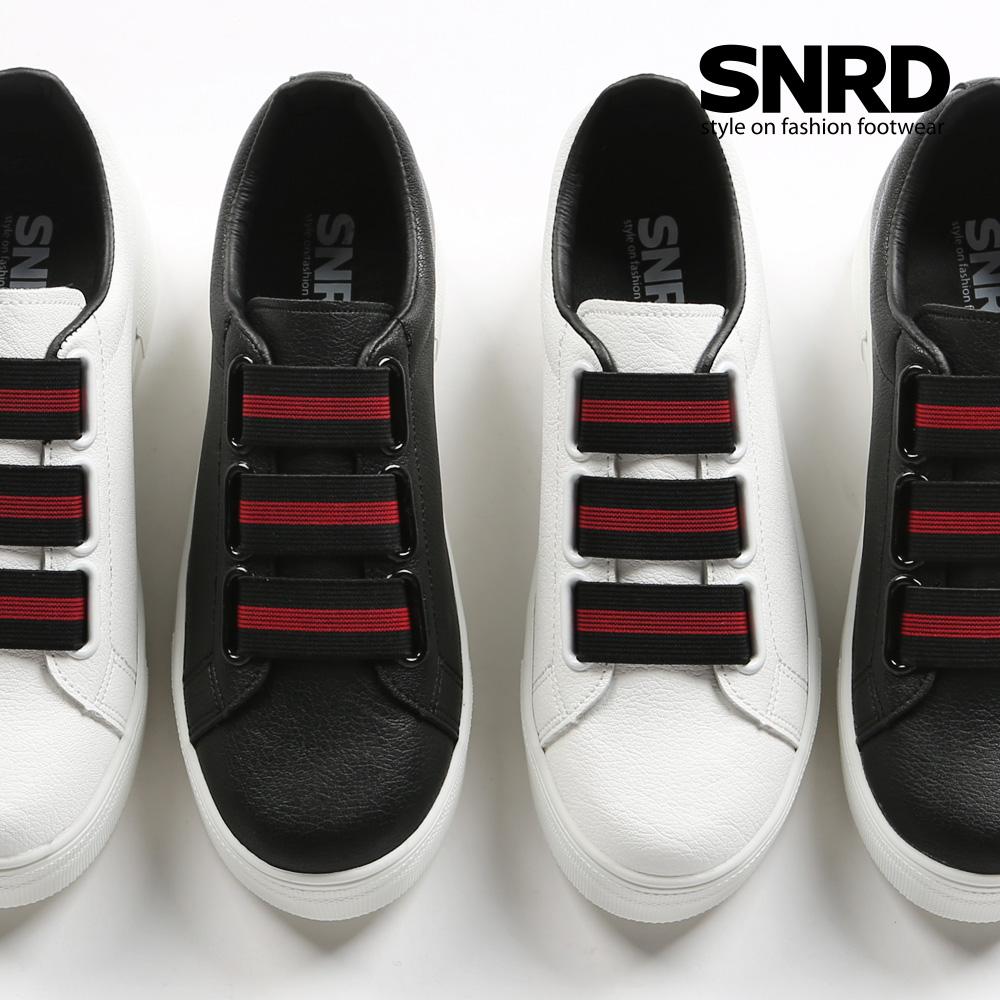 [SNRD] NEW 슬립온/스니커즈/여성/키높이/통굽 2종택1 SN182