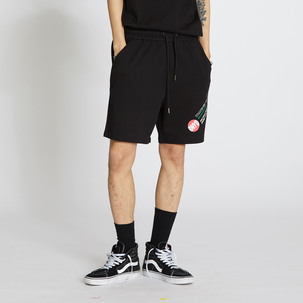 ANYQ Cotton Shorts - Black