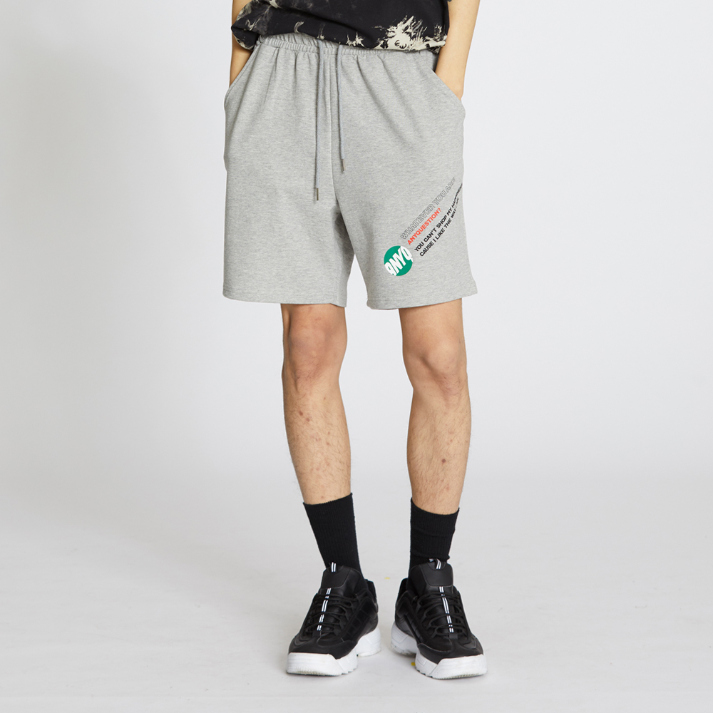 ANYQ Cotton Shorts - Grey