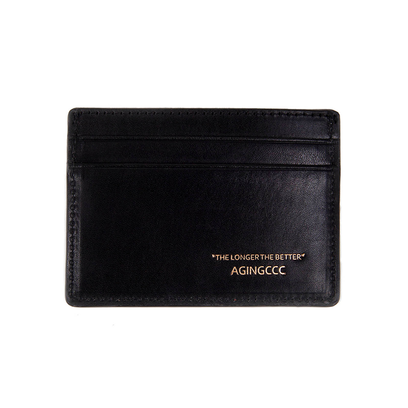 242# X CARD WALLET-COW HIDE