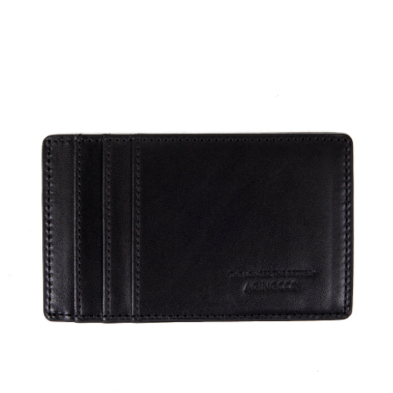 243# Y CARD WALLET-COW HIDE