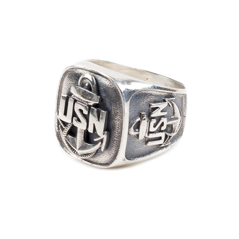 131# USN HHD RING SILVER