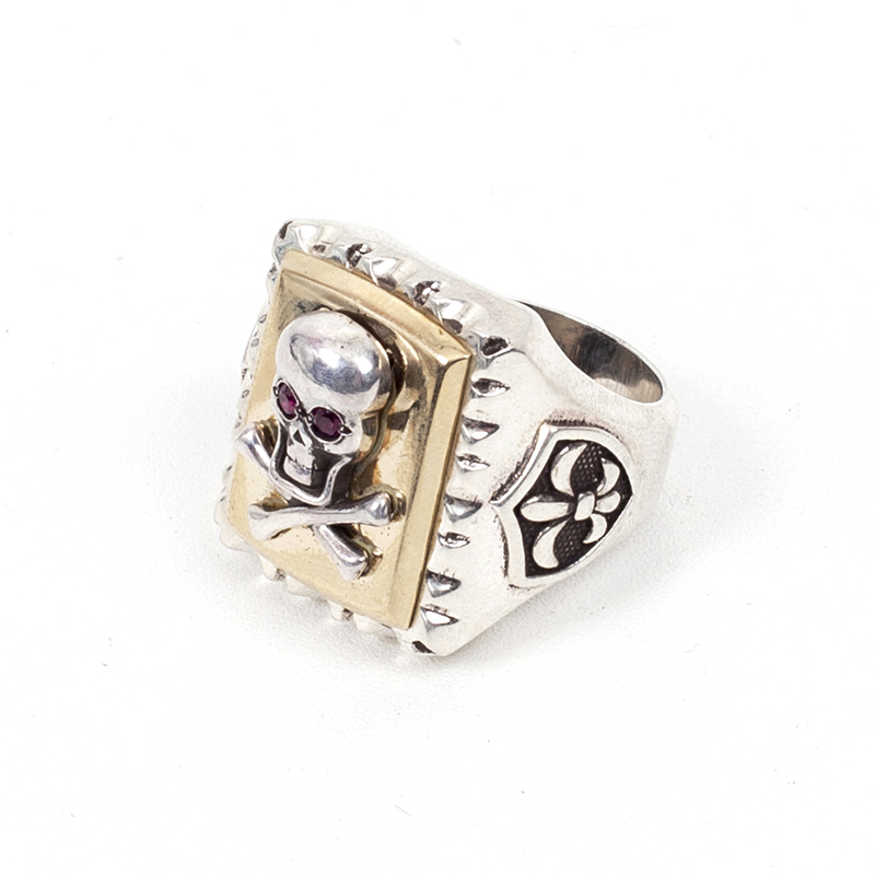 418# ORIGINAL MEXICAN SKULL RING