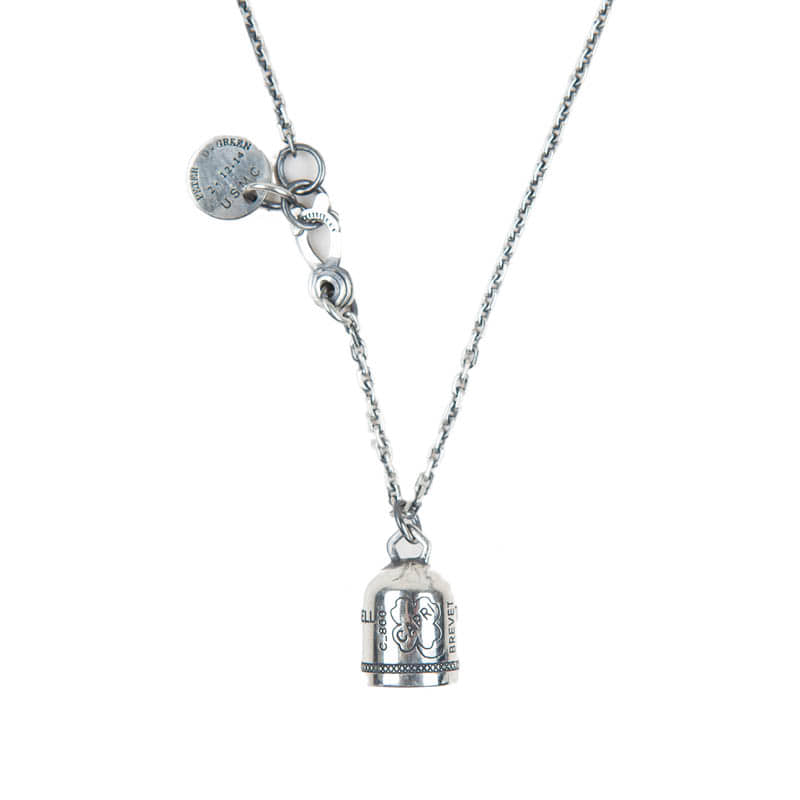 274# 92.5 SILVER CAPRIBELL NECKLACE