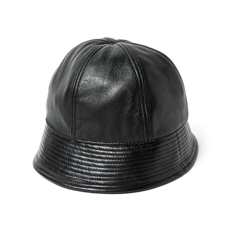 59# CALF SKIN SAILOR HAT