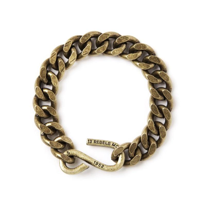 11# 1952 chain bracelet - brass