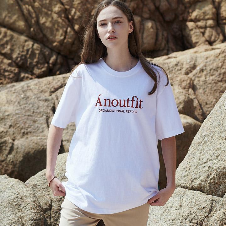 UNISEX SIGNATURE LOGO T-SHIRTS WHITE