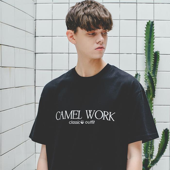 Classic Logo S/S T-Shirts(Black)