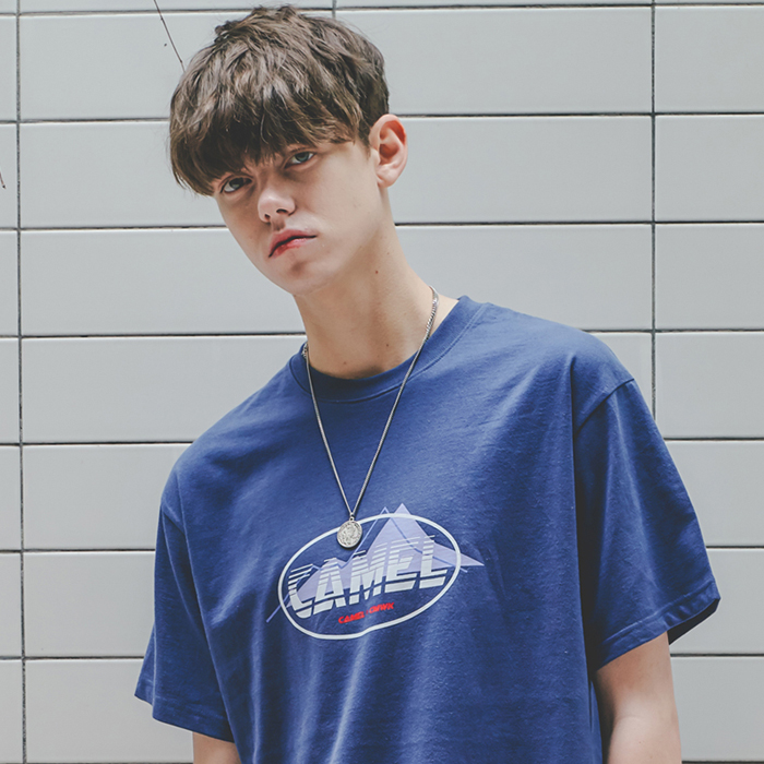 Mountain S/S T-Shirts(I.Blue)