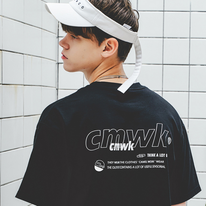 Cloud S/S T-Shirts(Black)