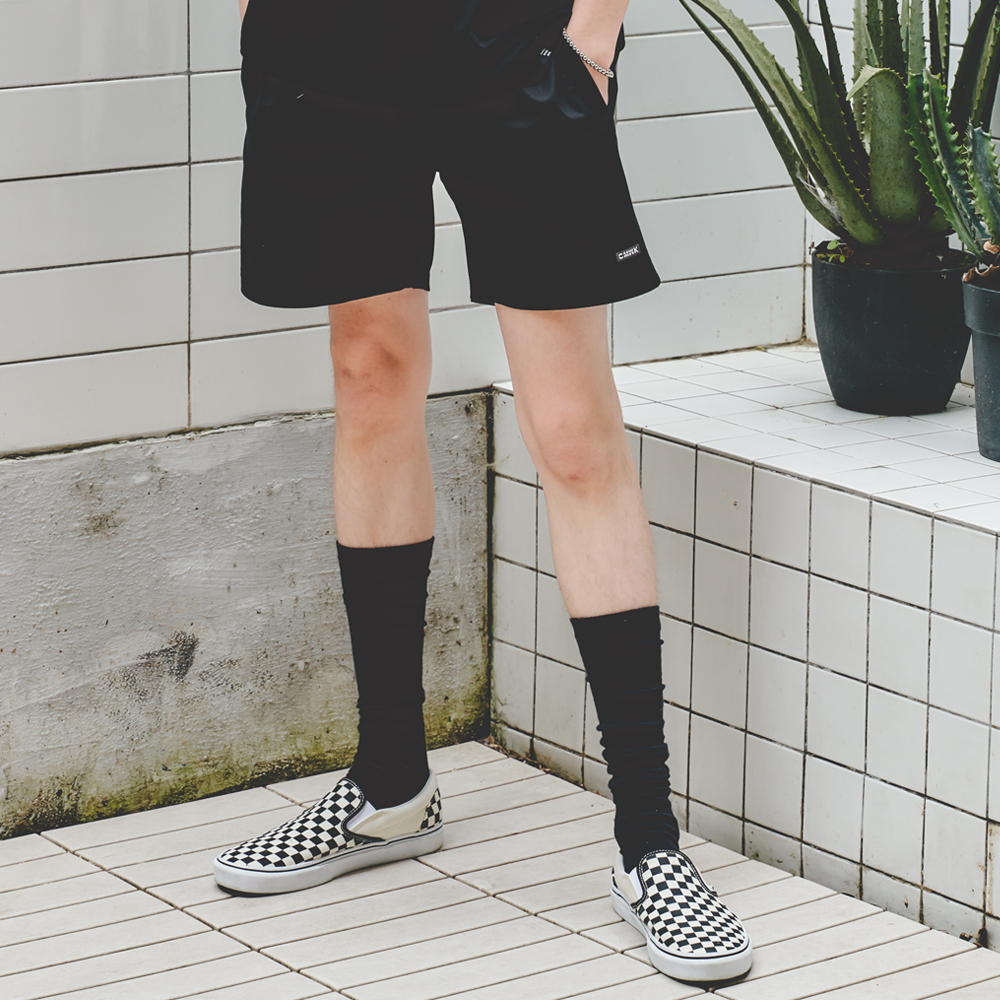 Span Short Pants(Black)