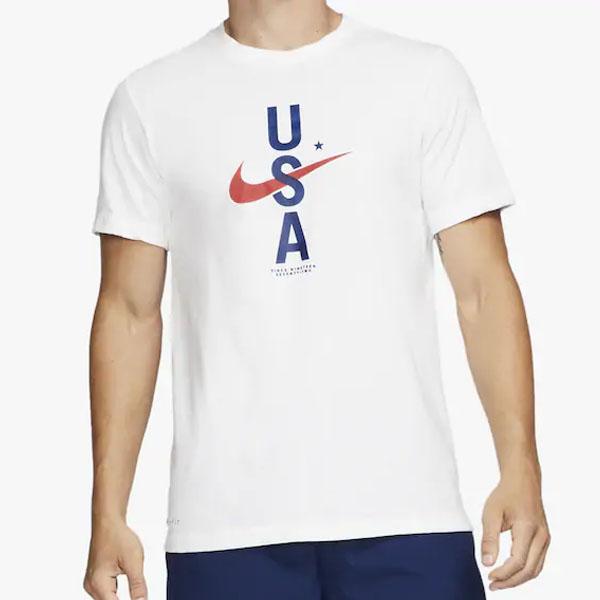 [해외]19SS 나이키 드라이핏 RWB USA 스우시 티셔츠 3종