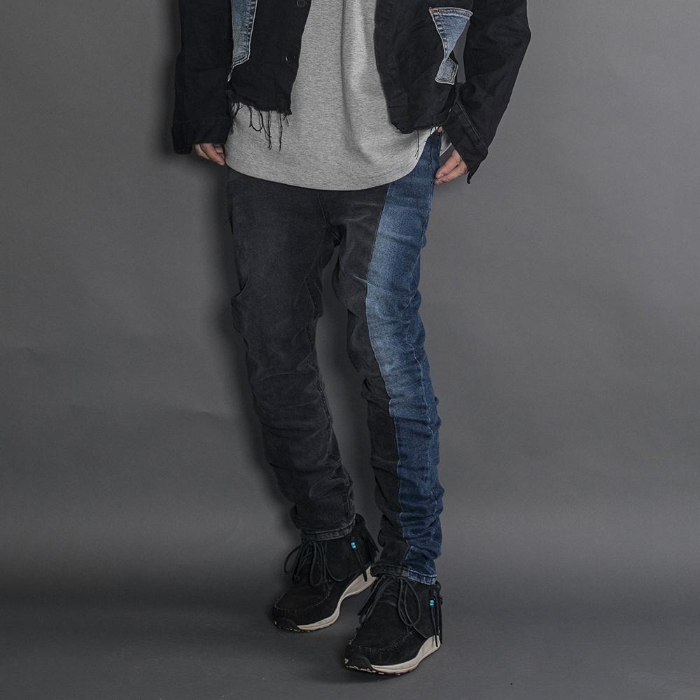 오메르타 by RE-LAB #005 Washed Twoface jeans New Slim Fit